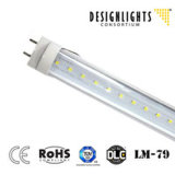 SMD2835 13W 4ft LED Tube Light Dlc Listed 5 Years Warranty