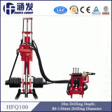 Portable Motor Drive DTH Drilling Rig (HFQ100)