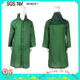 High Quality Durable Polyester Fashion Long Adult Rain Coat