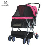 Premium Heavy Duty Pet Stroller Travel Carriage for Dog/Cat