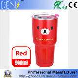 Double Wall Insulated 30oz 18/8 Stainless Steel Rilakkuma Yeti Rambler Tumbler Coffee Mug