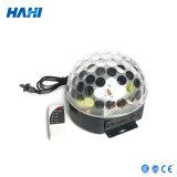 High Quality LED Crystal Magic Ball Light with MP3