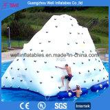 Giant Inflatable Iceberg Slide Rock Climbing Floating Water Games