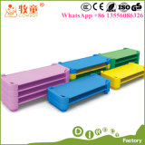 Guangzhou China Supplies Children Cloth Daycare Stackable Cots Beds