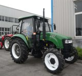 75HP Tractor with Front End Loader and Backhoe