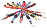 Satin +Polyester Custom Lanyard (JC220L)
