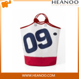 Custom Nautical Clothing Sailcloth Fabric Hotel Cotton Laundry Bag