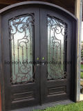 High Quality Double Wrought Iron Entry Door