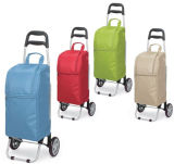 Rolling Thermal Insulated Trolley Shopping Cart with Wheel
