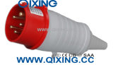 Cee 32A 5p Red 400V Industrial Plug with PVC Tail