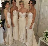 2015 Bridesmaid Dresses Sweetheart Sequins Mermaid Wedding Formal Gowns B19122