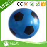Blue PVC Football Soccer Toy Plaything for Kids Children