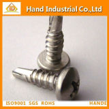 Stainless Steel 304/316 Phillips Pan Head Drilling Screw