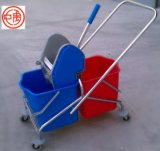 Cleaning Mop Trolley, Wringer Mop Bucket (ZY-1303)