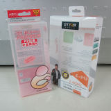 Tuck Top Clear PVC Boxes with Hanger Tab (TT-08)