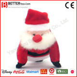 Stuffed/Soft /Plush Gift Santa Claus Toy for Christmas Decoration