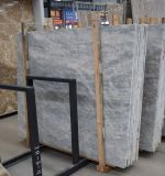 Grade AAA+ Silver Grey Color Natural Marble Slab for Home Decoration