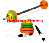 Fitness accessory, Olympic Bar, professional dumbbell, Bar With Plates Set HW-007