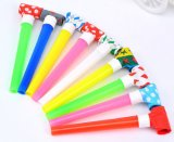 OEM High Quality Blowout Toy Trumpet for Birthday Party