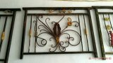 Elegant Art Deco Wrought Iron