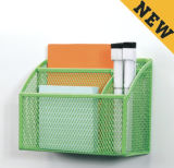 Metal Mesh Stationery Magnetic Hanaging/ Office Desk Accessories
