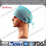 Disposable Non Woven Tie Loop Medical Doctor Surgical Cap