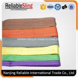 Polyester Color Code Duplex Flat Webbing Sling