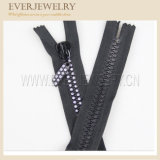 Factory Wholesale Rhinestone Close End Zipper with Fancy Slider