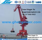 40t20m Port Handling Machine Grab Container Harbour Crane