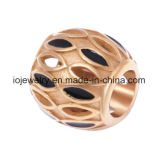 Hollow Spacer Metal Bead for Jewelry Making