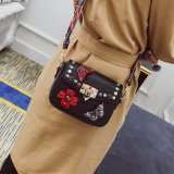 New Fashionable Embroidered Purse PU Ladies Wallet