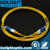 LC to LC Duplex 2.0mm Fiber Patch Cord with Short Boot