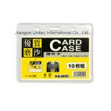 Semi-Transparent Vinyl Badge Holder T-044h/T-044V/T-045h/T-045V/T-046V/T-047h/T-047V/T-048h/T-048V/T-049V