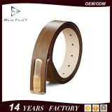 Fashion Designer Custom Logo Belt Genuine Cowhide Leather Men Waist Belt