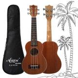 Aiersi 21 Inch Mahogany Body Soprano Ukulele Mini Guitar