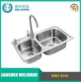 Modern Wb2-8345 Moulding Ss304 Kitchen Sink