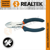 Professional Nickel-Plated Diagonal Cutting Pliers with Raised Shoulder