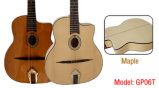 Aiersi Oval Hole Handcrafted Gypsy Jazz Guitar (GP06T)