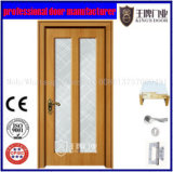Bathroom Glass Wood Door