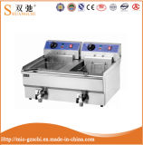 Hot Sale (8L+8L) Electric Fryer with Stainess Steel