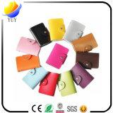 Beautiful Candy Color PU Multi Card Holder