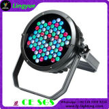 Outdoor 72PCS 3W LED PAR 64 RGB DMX Stage Lighting