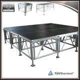Portable Aluminum Mobile Stage Wooden Platform for Event
