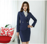 Made to Measure Fashion Stylish Office Lady Formal Suit Slim Fit Pencil Pants Pencil Skirt Suit L51620