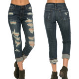 Ripped Jeans for Women Jeans Pants Skinny Pantalones Pencil Jeans