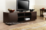Multi-Storage Wooden Walnut Living Room TV Stand (TVS10)