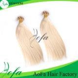 High Quality Eurasian Virgin Hair Human Hair Extension U-Tip