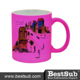 11oz Full Color Mug (Frosted, Purple Red) (B11WM)