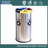 Open Top Round Garbage Dustbin for Office