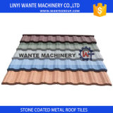Wante Durable Building Material Colorful Stone Coated Metal Roof Tile